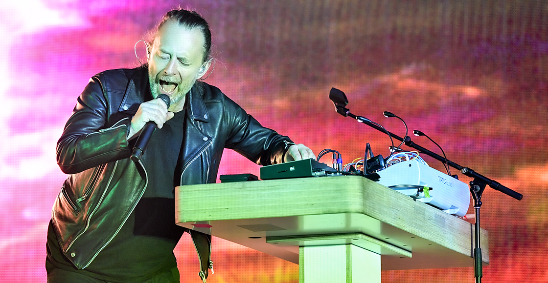 "Escucha la rara versión de ""Creep"" que Thom Yorke mezcló para un desfile de moda"