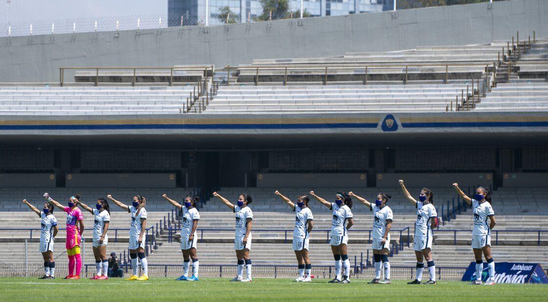 En imágenes: Así fue el regreso de Pumas Femenil al Olímpico Universitario