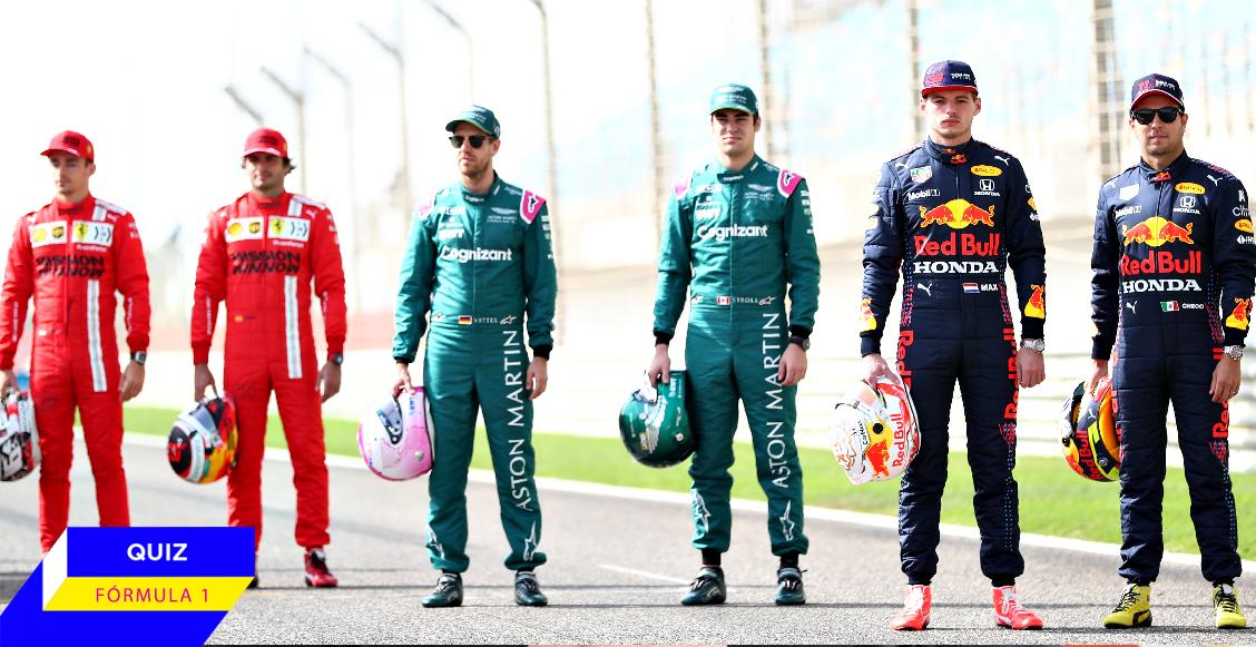 QUIZ: ¿Qué tanto sabes sobre los cambios de pilotos y escuderías en Fórmula 1 en 2021?