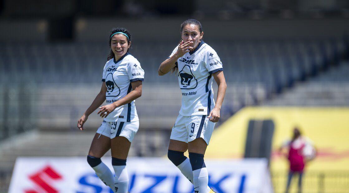 ¡Historia pura! Revive los primeros goles de Pumas Femenil en el Olímpico Universitario
