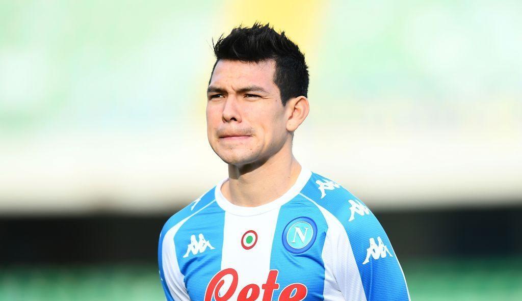 ¡Wooow! Napoli subasta jersey del Chucky Lozano por una buena causa