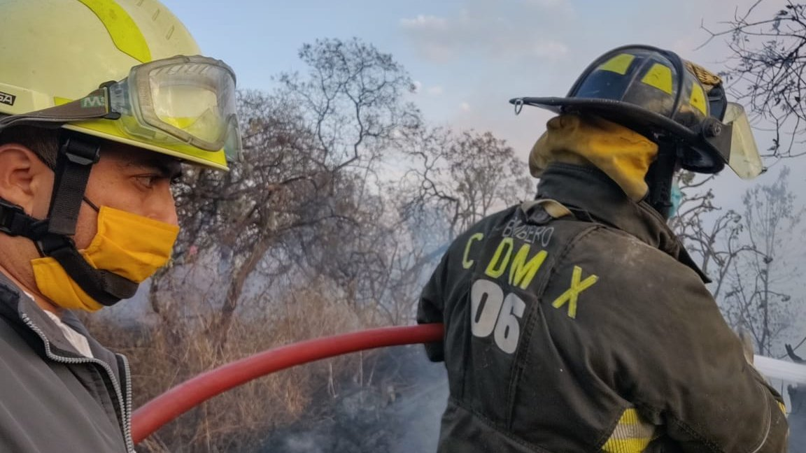 incendio tlalpan fuentes del pedregal tv azteca 4