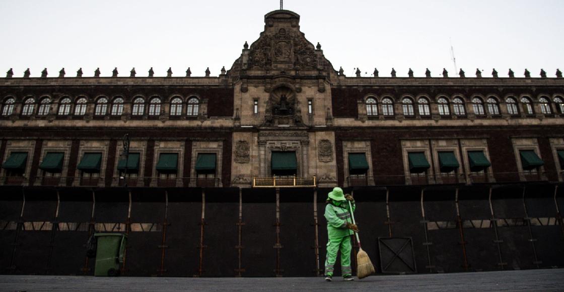 """""""Cerco de Palacio Nacional es un muro de paz"""", dice Jesús Ramírez, vocero de Presidencia"""