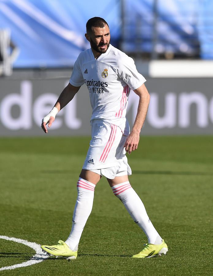 Karim Benzema con el Real Madrid La Liga