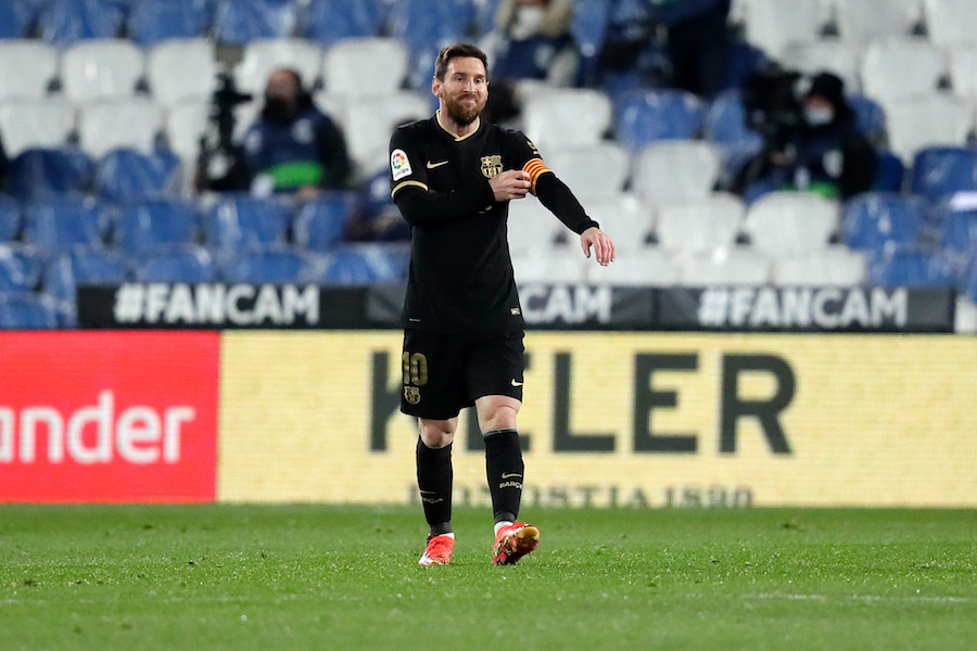 Messi Barcelona La Liga 2021