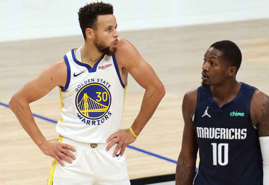 ¡Así que chiste! LeBron James su 'Space Jam' con Curry y Antetokounmpo en el Draft del All-Star Game