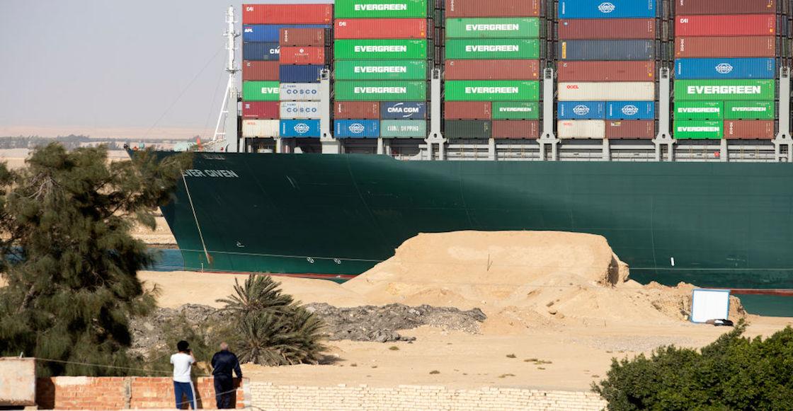 Suez Canal Liberty Boat