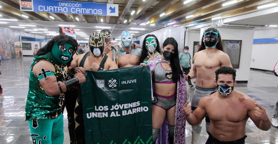 luchadores-metro-cubrebocas
