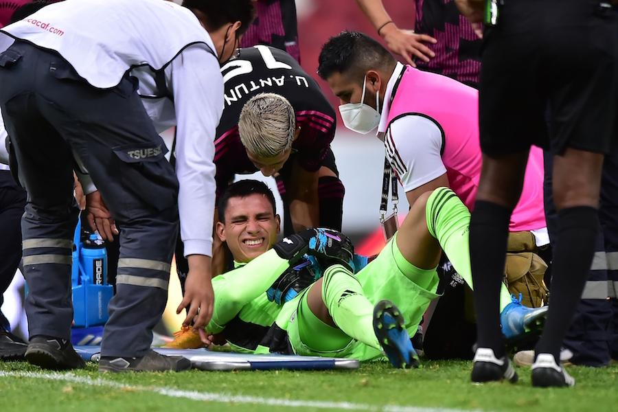 Luis Malagón lesionado Preolímpico