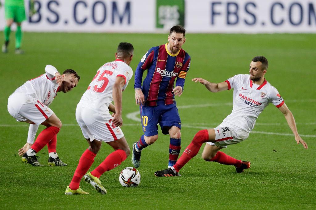 """Filtran supuesto conflicto entre Messi y directivos del Sevilla: """"Se van calientitos"""""""