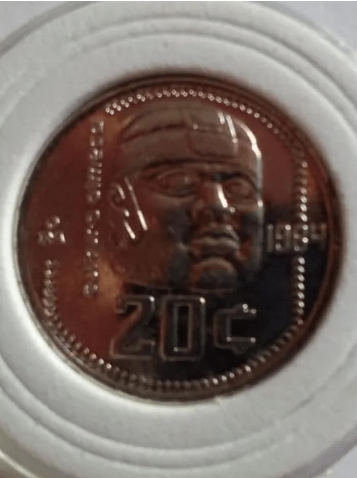 ¡Santas morrallas! Moneda de 20 centavos se vende en más de 7 mil pesos