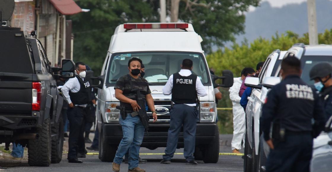 Fiscalía del Edomex ofrece recompensa por sospechosos de la emboscada contra policías de Coatepec