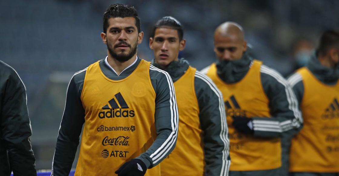 Selección Mexicana sin delanteros