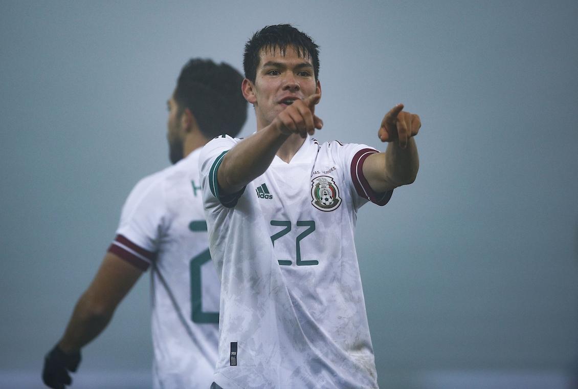 Chucky Lozano Selección Mexicana