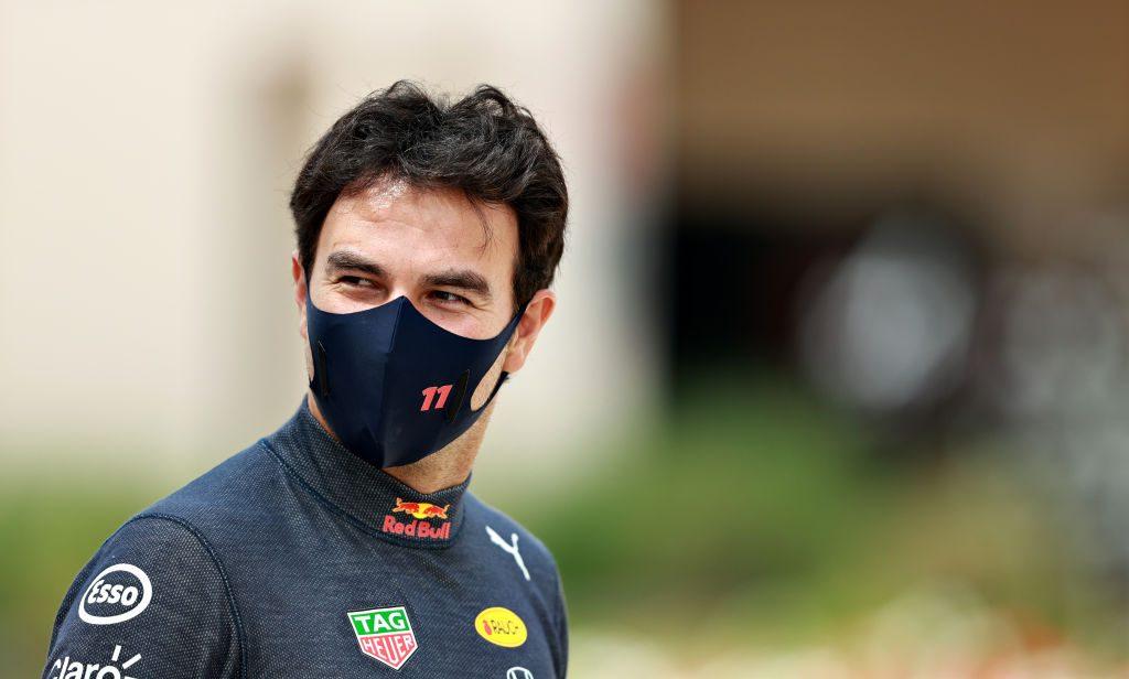 En imágenes: Checo Pérez se presentó con Red Bull en las pruebas de Baréin