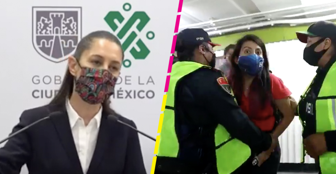 sheinbaum-policia-bancaria-periodistas-metro