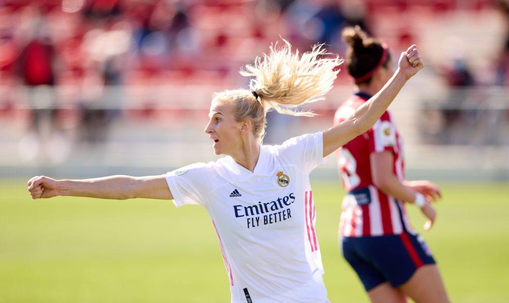 ¡Día histórico! El Real Madrid ganó su primer derbi madrileño femenino
