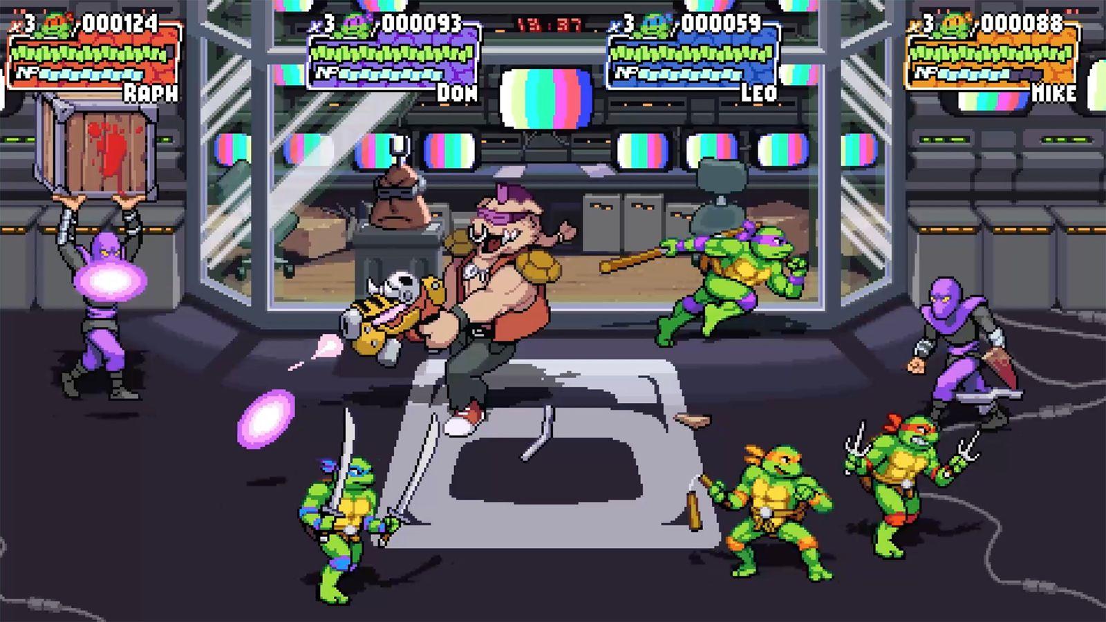 Trancazo de nostalgia: 'Las Tortugas Ninja' tendrán un nuevo videojuego con toque retro