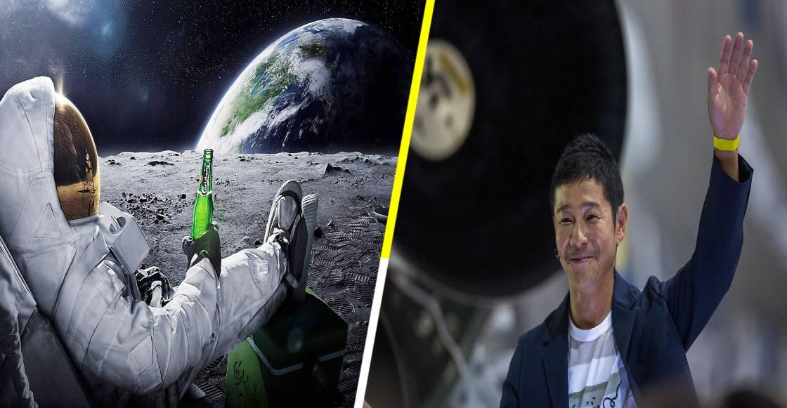 ¡A volar! El millonario Yusaku Maezawa, regala 8 viajes a la Luna