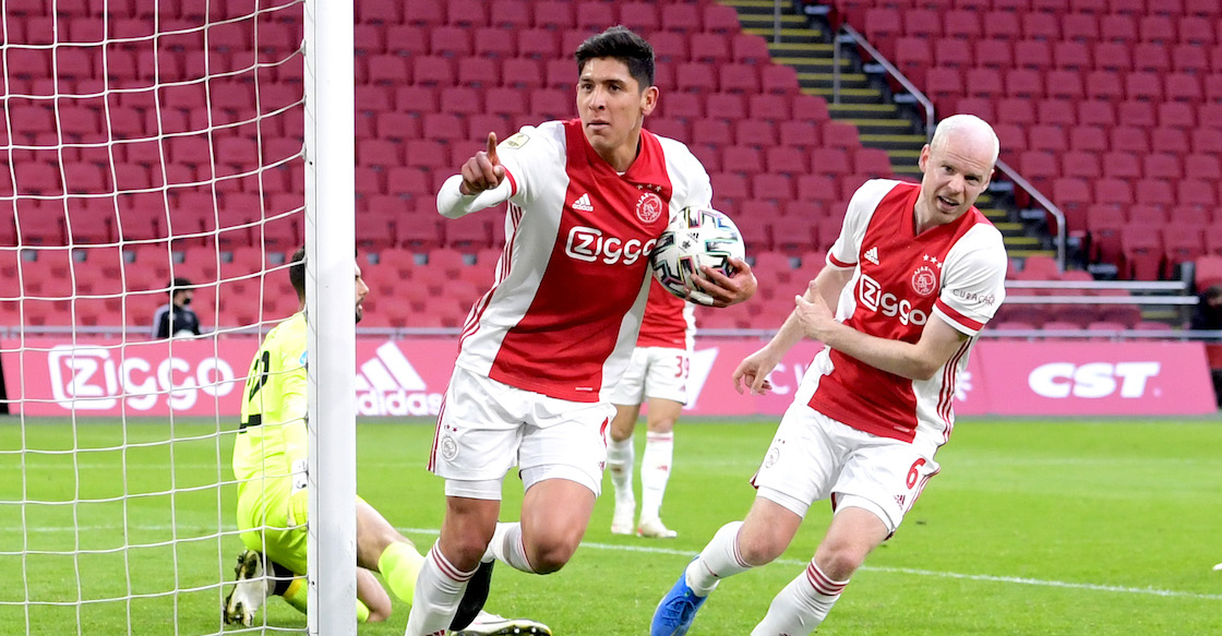 ¡Rómpela, Machín! El gol de Edson Álvarez que acerca al Ajax al título de la Eredivise