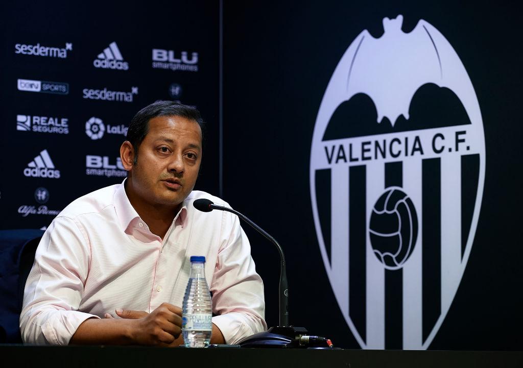 Anil Murthy, presidente Valencia
