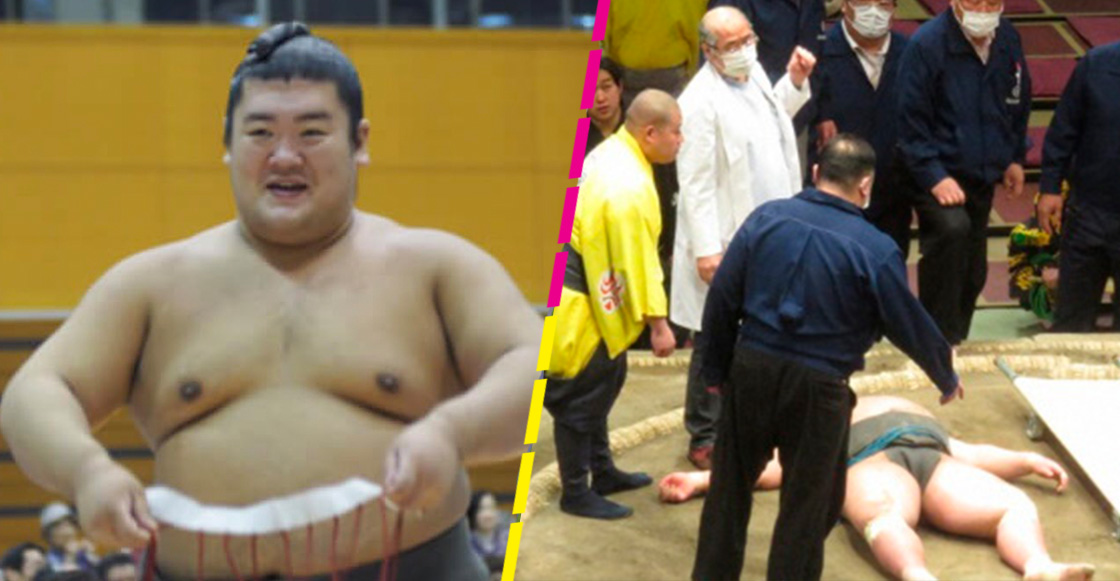 Hibikiryu, luchador de sumo muere a los 28 años tras un accidente en combate