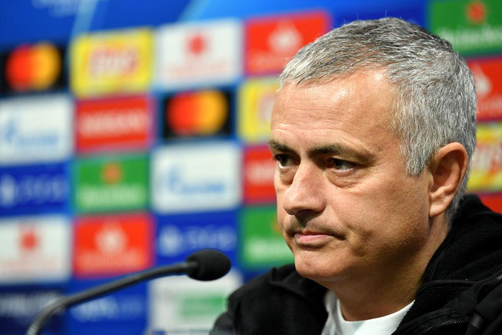 Jose Mourinho en conferencia de prensa