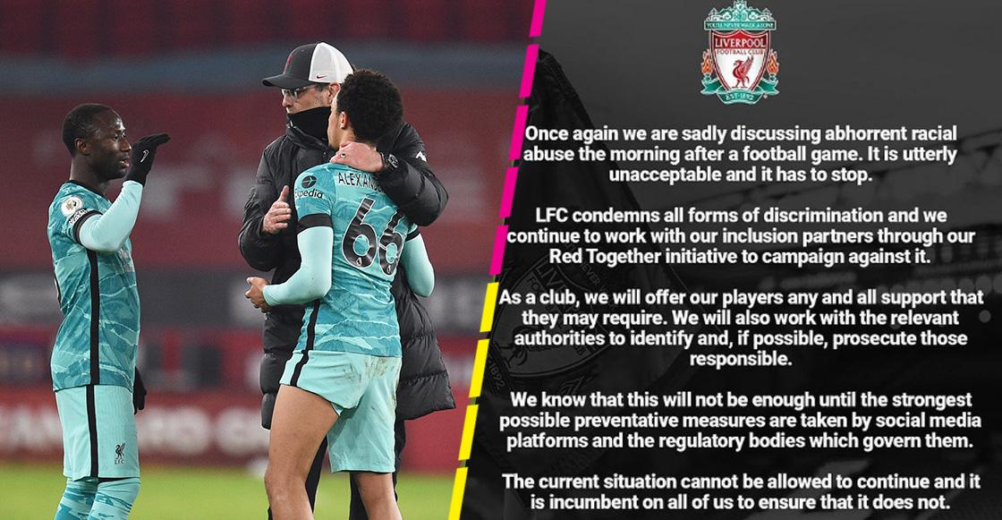 Liverpool se declara en contra del racismo tras el ataque a jugadores después de la Champions League