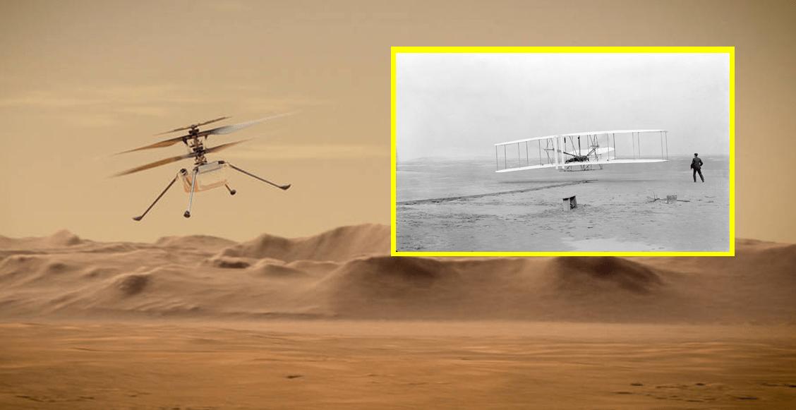 NASA-primer-vuelo-marte-avion-hermanos-wright-ingenuity-historia