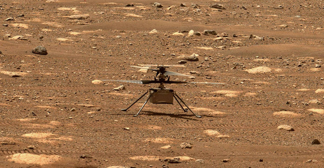 NASA helicopter helicopter first flight to Mars 01