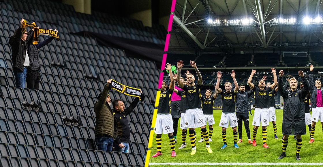 Suecia reabre puertas de estadio, pero sólo a 8 aficionados por medidas sanitarias