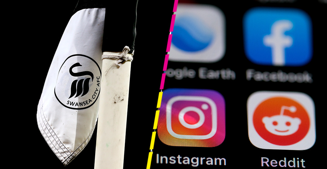 El plan del Swansea City para boicotear a las redes sociales de los ataques racistas