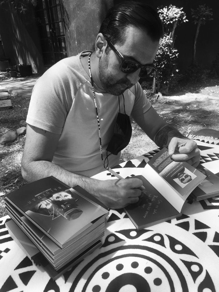 Antonio Loza, autor de Baldemar