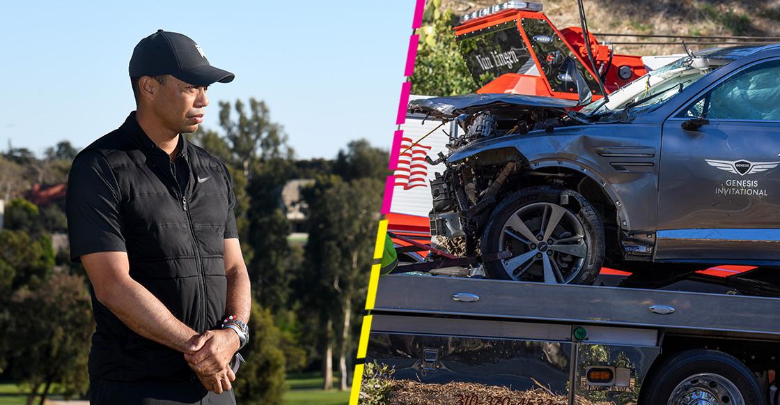 Exceso de velocidad es la causa del accidente automovilístico de Tiger Woods