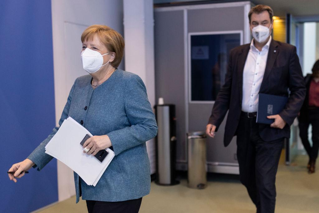 Angela Merkel vaccination Germany