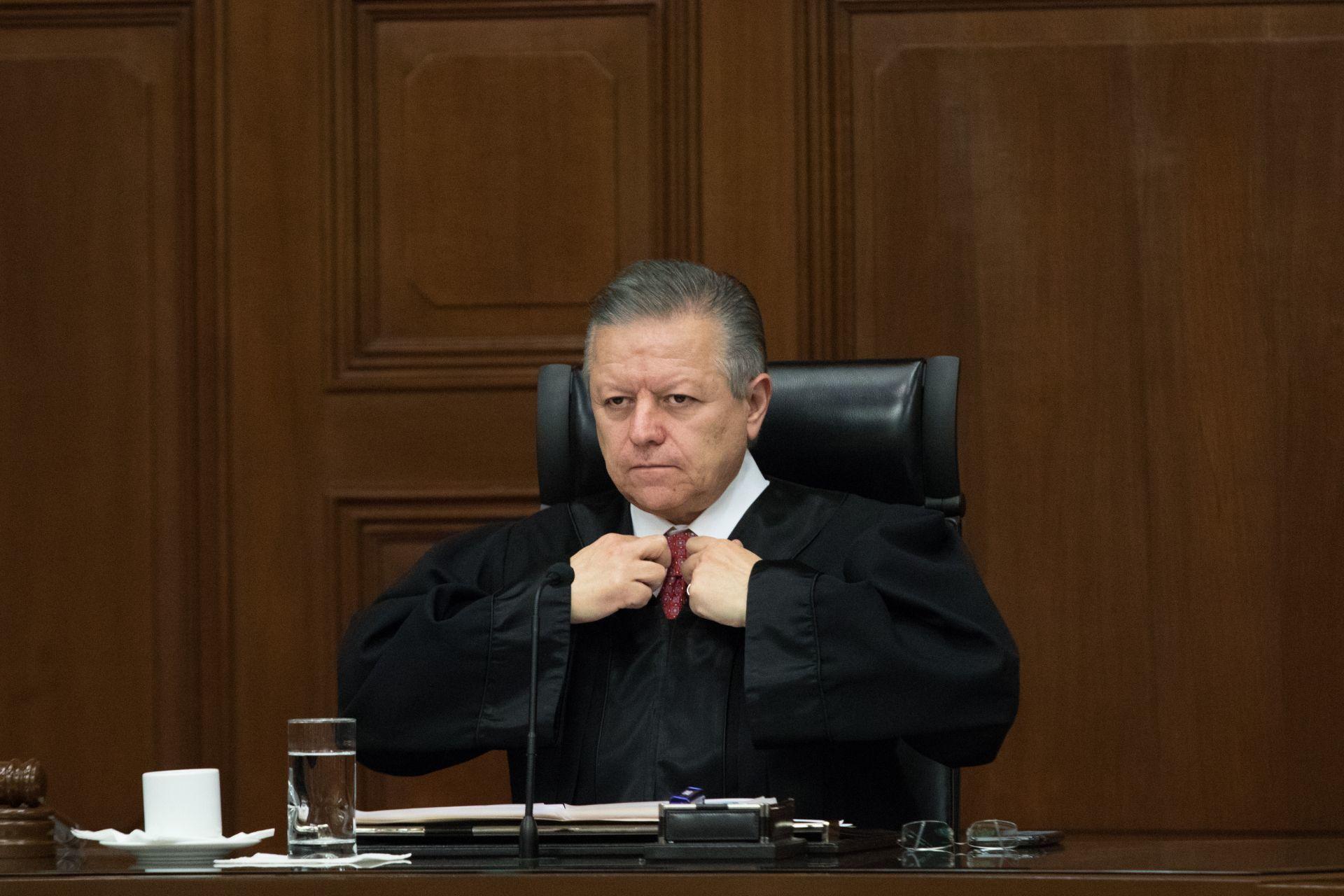 CIUDAD DE MÉXICO, 25NOVIEMBRE2019.- Loretta Ortíz Ahlf (imagen) y Verónica de Gyvés fueron recibidas en sesión solemne en la Suprema Corte de Justicia de la Nación como nuevas integrantes del Consejo de la Judicatura Federal, el presidente de la SCJN, Arturo Zaldívar, felicitó a las nuevas consejeras de la CJF.