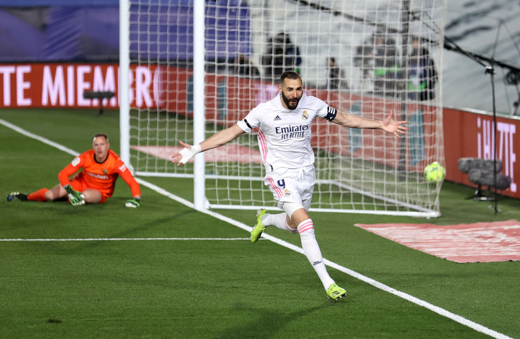 Gol de Karim Benzema vs Barcelona