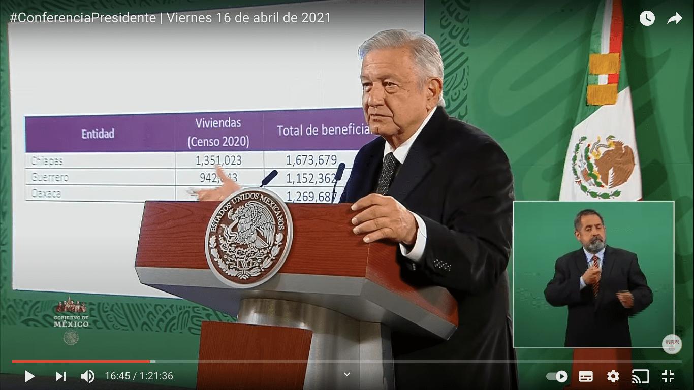 """INE pide a Ejecutivo abstenerse de difundir logros de gobierno en """"mañanera"""""""