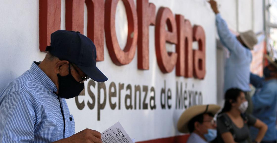 Adulto mayor denuncia agresión por parte de un brigadista de Morena en CDMX