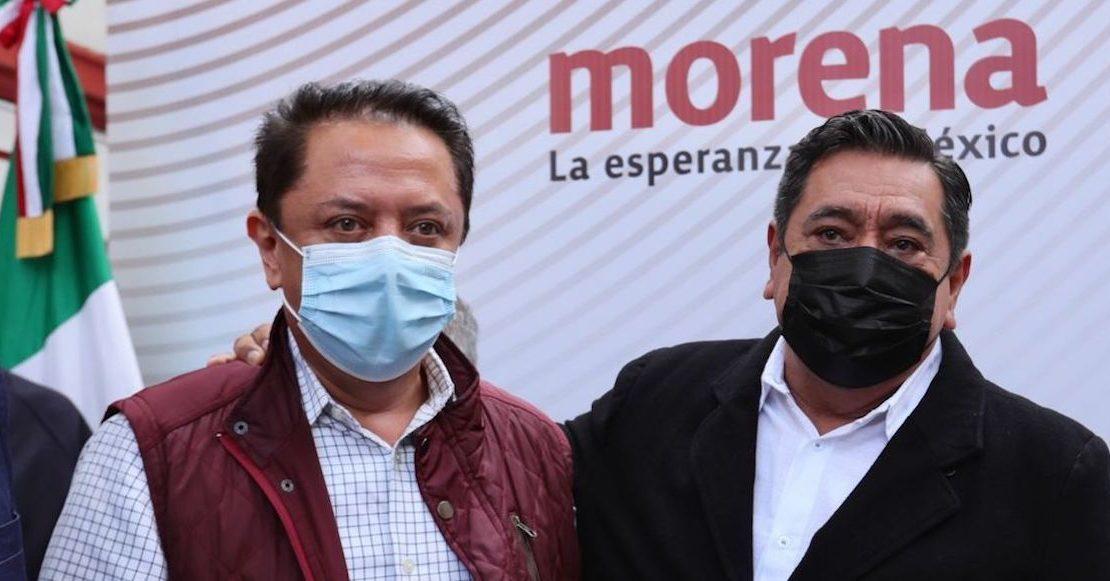 Candidato de Morena defiende el logo del Aeropuerto de Santa Lucía por ser barato
