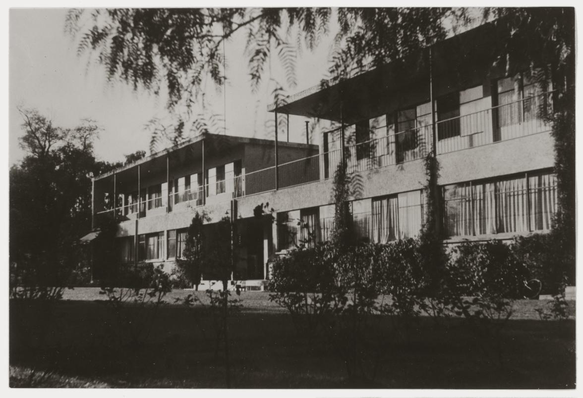 Así lucían las casas modernas en la colonia del Valle.