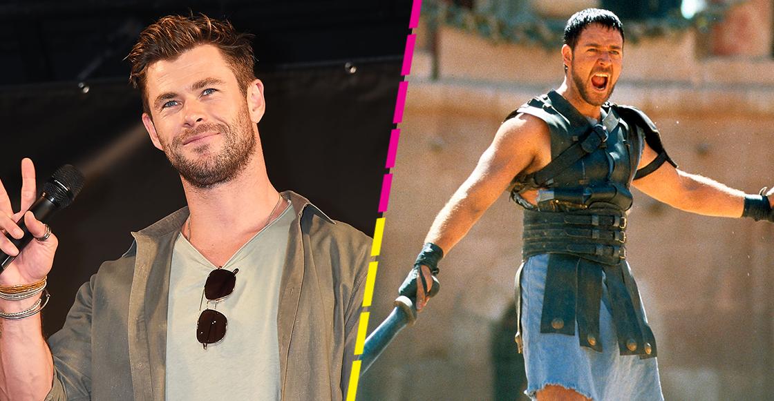 Anda la osa: Chris Hemsworth podría protagonizar la secuela de 'Gladiador'
