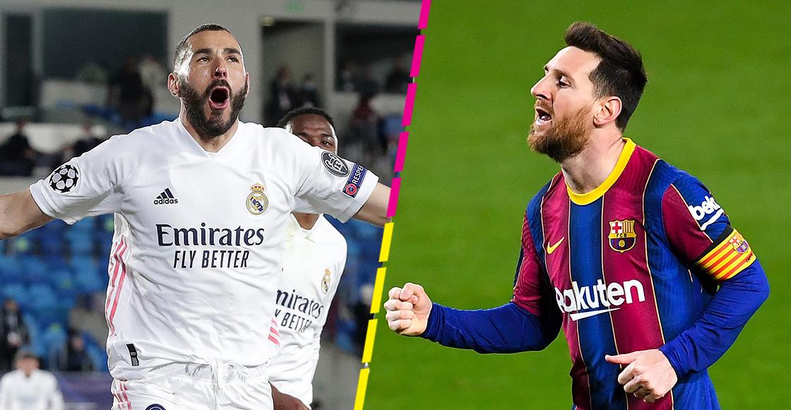 ¿Cómo, cuándo y dónde ver en vivo El Clásico entre Real Madrid y Barcelona?
