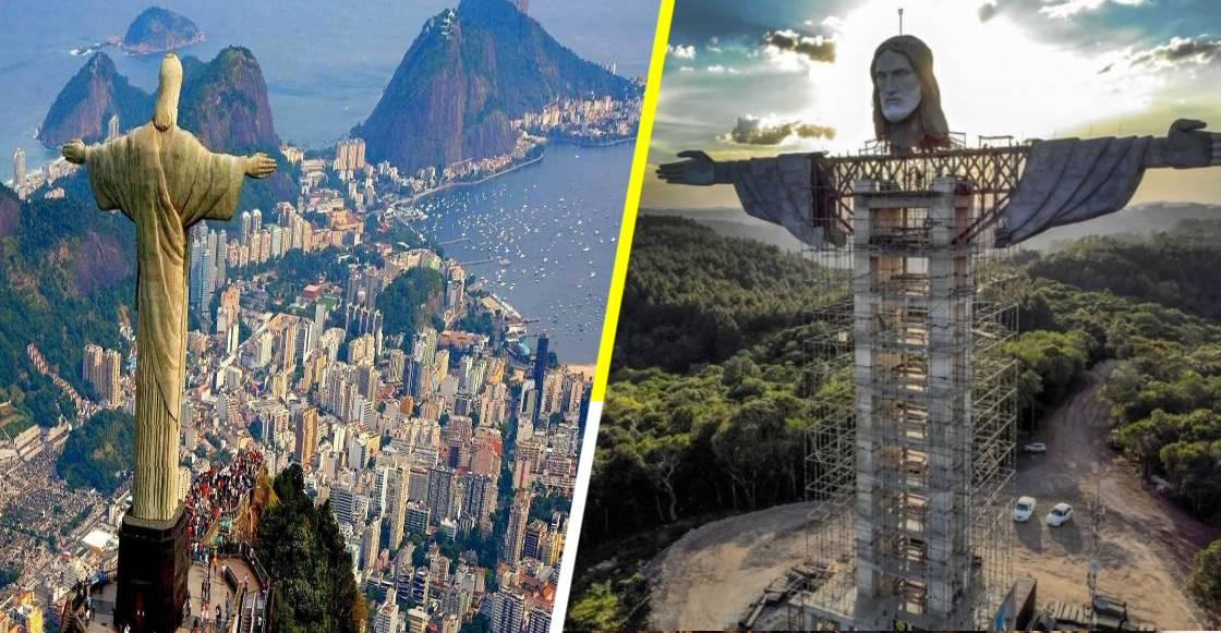Brasil construye monumento a 'Cristo Redentor' más alto que el de Corcovado