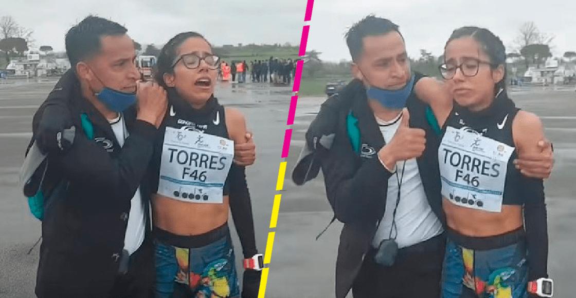 Daniela Torres alcanza marca olímpica y rompe en llanto al recordar a su madre