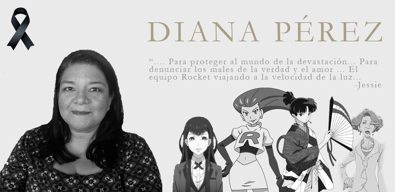 Muere Diana Pérez, actriz de doblaje y voz de 'Jessie' en Pokémon