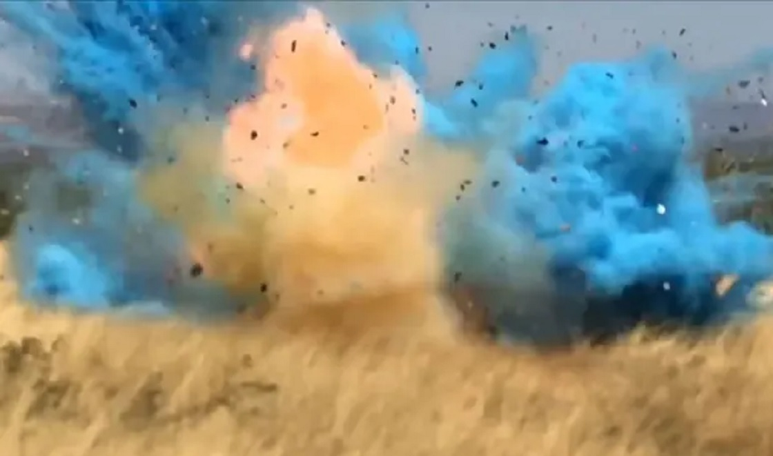 explosion fiesta revelacion sexo bebe 1
