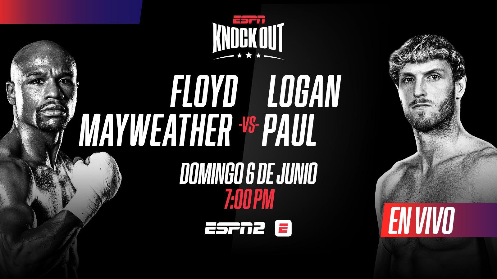 ¿Cómo ver la pelea de exhibición entre Floyd Mayweather vs el youtuber Logan Paul?