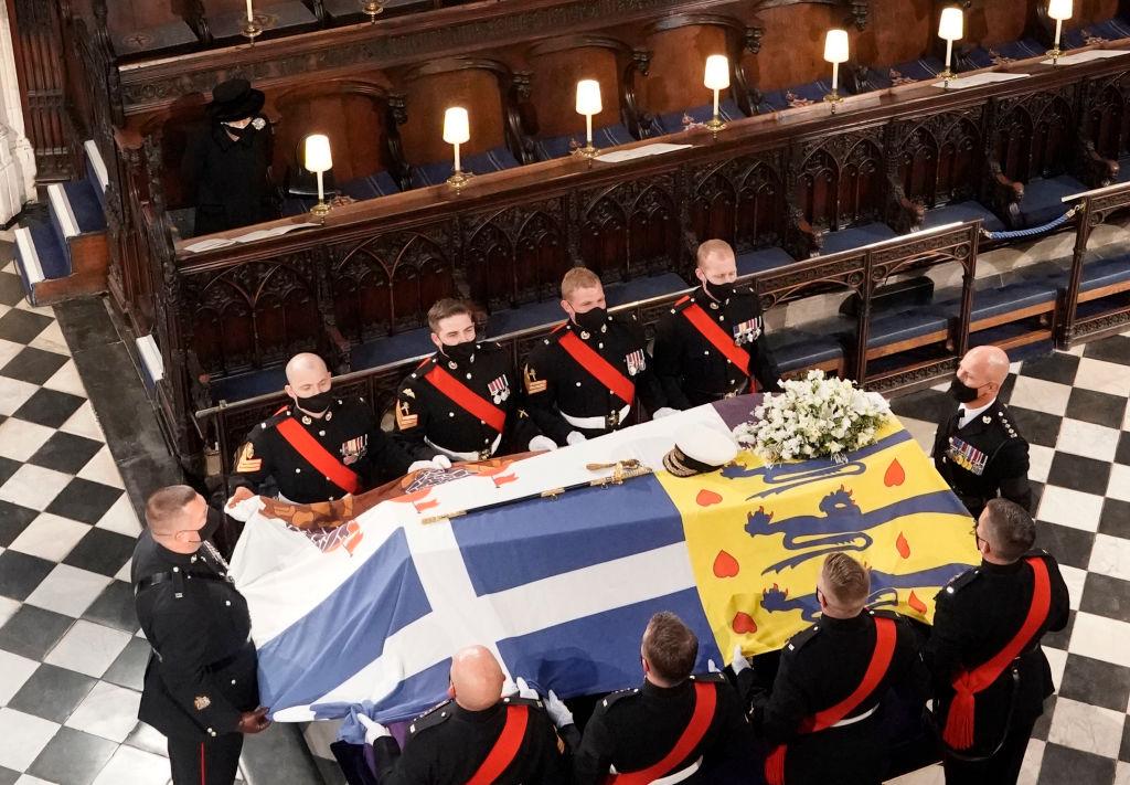 En imágenes: Así fue el funeral del príncipe Felipe en el Reino Unido