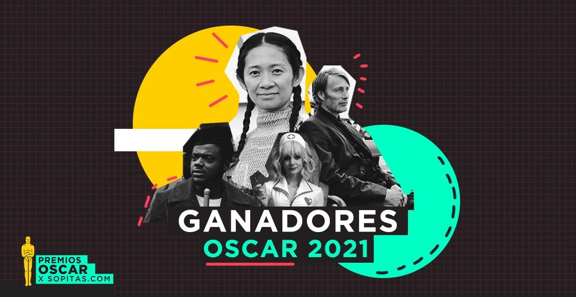 Winner list! Estos son los ganadores de los premios Oscar 2021